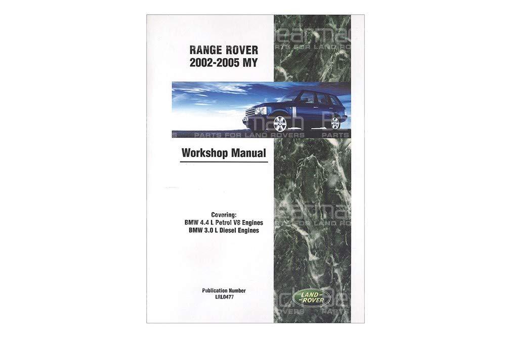 BEARMACH OEM - Workshop Manual - Range Rover L322 2002-2005 Part# LRL0477
