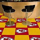 Fanmats Kansas City Chiefs Team Carpet Tiles