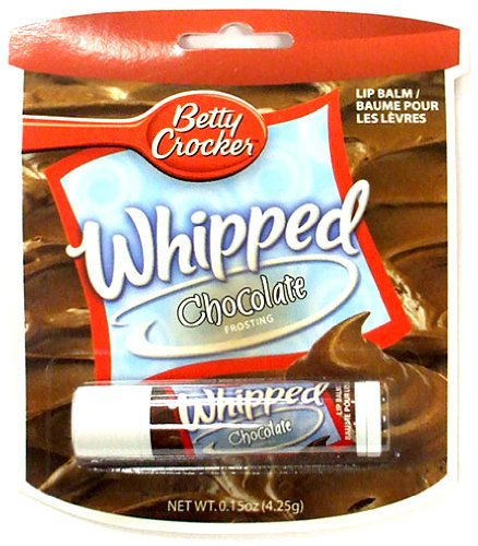 Betty Crocker Whipped Chocolate Frosting Lip Balm!