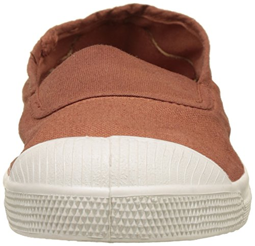 Bensimon Tennis Elastique, Baskets Basses Femme Marron (Terracota)