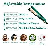 Hair Straightener and Curler,Nano Titanium Ceramic