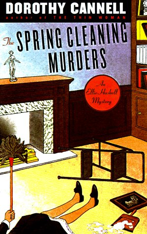 book cover of The Spring Cleaning Murders