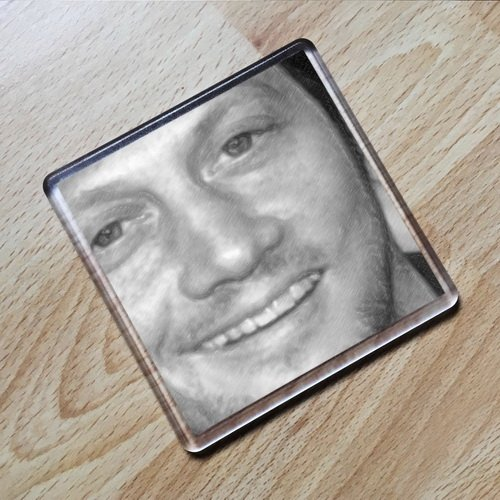 Seasons ROB Schneider - Original Art Coaster #js005