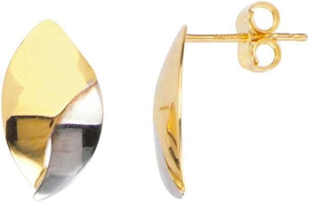14 kt Gold filled Leaf Earrings Lightweight Gold EarringsGold Shiny Earrings Go with Anything Gold EarringsGift for HerLovely Earrings