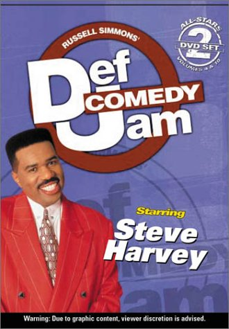 Def Jam Comedy - All-Stars Volumes 4 and 10 - Best of Steve Harvey (The Steve Harvey Show Dvd)