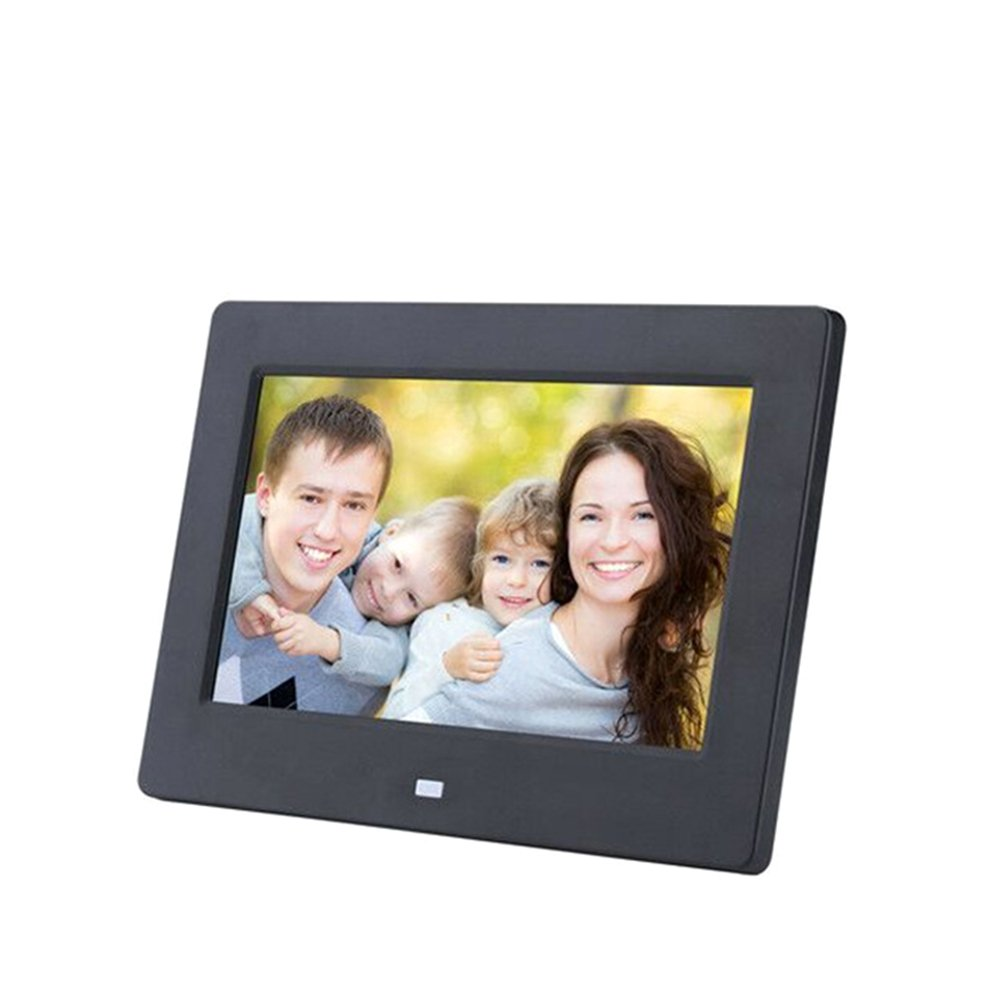 Digital Photo Frame Hi-Res Widescreen with Ultra Slim Design Photo/Music/Video Player,Black,17 inch