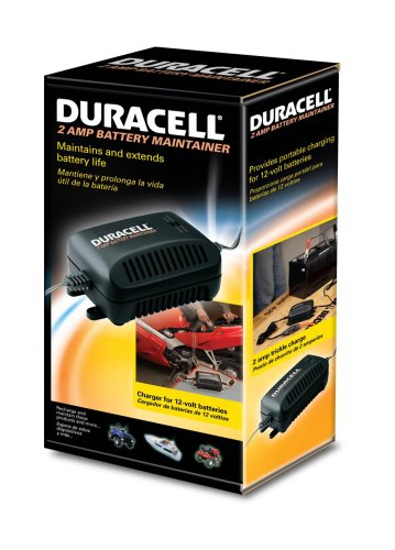 duracell d2a 2 amp 12v battery maintainer charger. Black Bedroom Furniture Sets. Home Design Ideas
