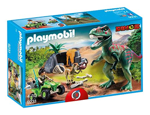 PLAYMOBIL 9231 Explorer Quad with T-Rex - NEW 2017