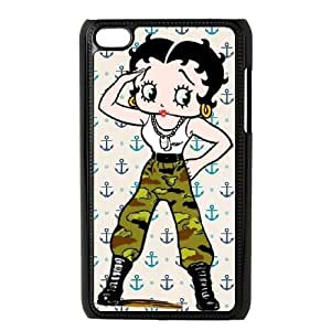 Cover Betty Boop For Ipod Touch 4 Cell phone Case Njak Unique Protective Csaes Cover