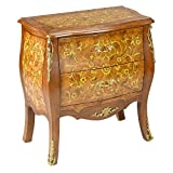AA Importing 70355 Two Drawer Bombay Chest