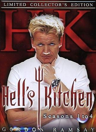 gordon ramsay hells kitchen seasons 1 4 limited collectors - Hells Kitchen Season 1