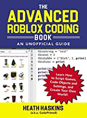 Clear and easy-to follow instructions for using coding and scripting tools to create new, more advanced Roblox games.Take your game design to the next level, with this complete guide to Roblox coding and scripting!Learn how to code using the ...