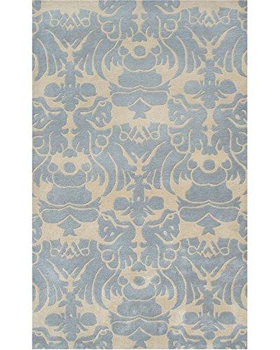16 x 27 16 x 27 ababy 44260S Ivory//Blue The Rug Market Venice Plush Floor Rug