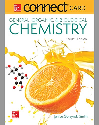 Connect  One Semester Access Card for General, Organic, & Biological Chemistry