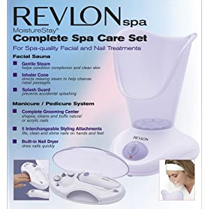 Revlon RVS1223PK1 Moisture Stay, Nail/Facial Kit, White