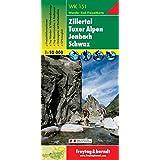 Hiking Maps of the Austrian Alps: Zillertal, Jenbach, Mayrhofen (Walking Maps)