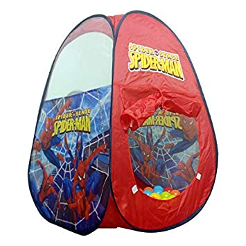 Image Unavailable  sc 1 st  Amazon.in : spiderman tent bed - afamca.org