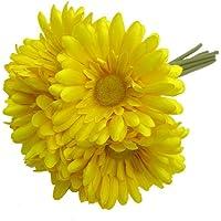 Primanova Dekoratif Çiçek Sarı Gerbera 6'Lı Buket D-D70122-2