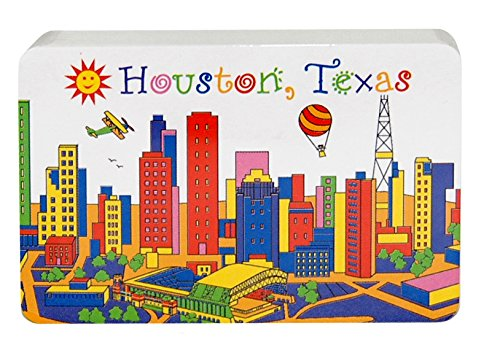 State of Texas Souvenir Playing Cards Featuring the Skyline of Houston