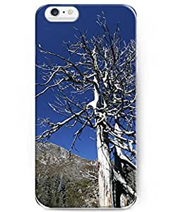 UKASE Hot Selling Fashion Tree Without Leaves Back Case Cover for Apple iPhone 6 Plus 5.5inch