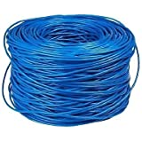 Technotech RJ45 CAT5e Ethernet Network Lan Cable [100 Yards] (Color May Vary)