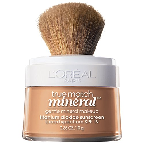 L'Oréal Paris True Match Loose Powder Mineral Foundation, Natural Beige, 0.35 oz. (Mineral Face Powder)