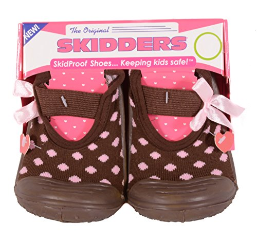 Pictures of Skidders Baby Toddler Girls Mary Jane Shoes Style XY4112 (6) 18 Months 1