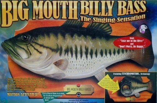 Big Mouth the Billy Bass the B01CON2210 Singing Sensation by Gemmy Big Industries by Gemmy [並行輸入品] B01CON2210, カネモ:027ddd10 --- fancycertifieds.xyz