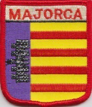 Mallorca España Parche Con Bandera Bordada: Amazon.es: Hogar
