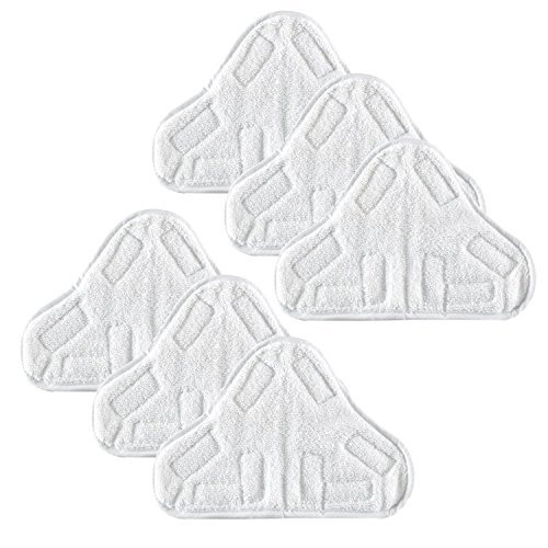 6 Replacement Pads Compatible with H2O H20 Steam Mop for sale  Delivered anywhere in USA