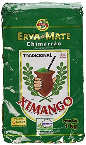 Ximango Yerba Mate - 35.27 Oz - Erva-Mate para Chimarrão Ximango - 1kg -