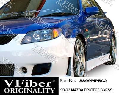 1999-2003 Mazda Protege 4dr Body Kit BC2 Side (Bc2 Side Skirts)