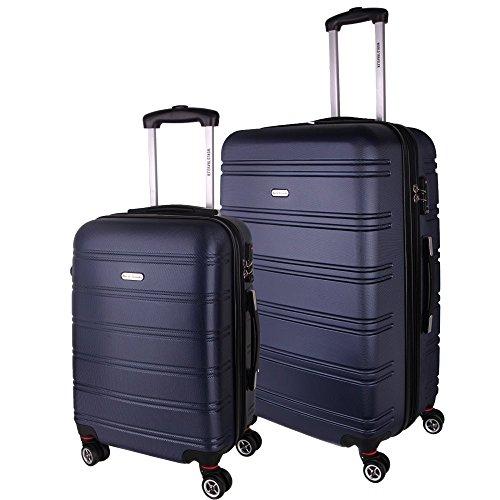 World Traveler Bristol Ii Hardside 2-Piece Spinner Luggage Set, Blue by World Traveler