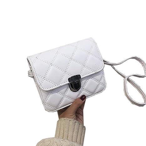 Small bag Bolsa Femenina/pequeña Bolsa Cuadrada rombal ...