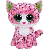 Sophie Pink Polka Dot Cat Boo Small - Stuffed Animal by TY (36189) by