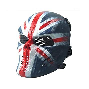 Máscara de ojo de metal ojo máscara BB proteger para tactical airsoft paintball hockey cosplay WorldShopping4U