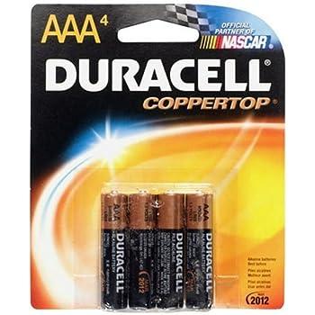 Amazon.com: Duracell Batteries/4 AAA - size batteries