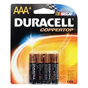 Amazon.com: Duracell Batteries / 4 AAA - size batteries