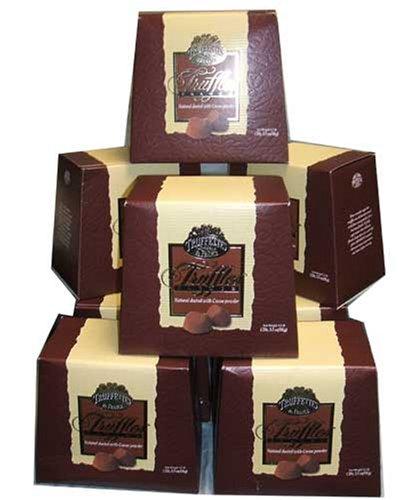 Chocmod Truffettes de France Natural Truffles, Plain, 1000-Gram Boxes (Pack of 10) by Chololate Truffles