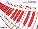 img - for Two at the Piano: 50 Duets for Young Pianists (1 Piano, 4 Hands) (Faber Edition: The Waterman / Harewood Piano Series) book / textbook / text book