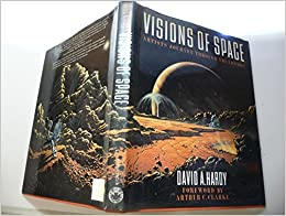 Book Visions of Space: Artists Journey Through the Cosmos by David A. Hardy (9-Nov-1989)