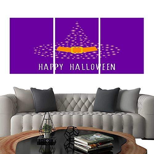 (Pictures Paintings on Canvas WallHappy halloween card template Abstract halloween pattern for design card party invitation poster album menu t shirt bag print etc 5. brick wall stickers 20
