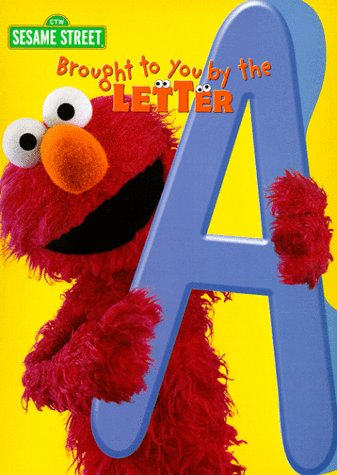 Brought to You by the Letter A Coloring Book Sesame Street