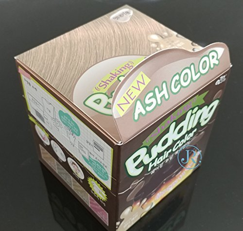 EZN Shaking Pudding Hair Color Korean Beauty - Sandy Ash 4.1