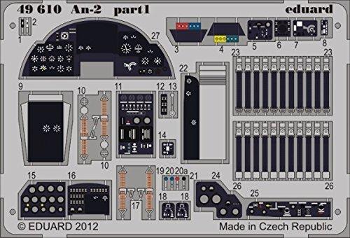 Envíos y devoluciones gratis. EDU49610 1 48 Eduard Color Photo Etch Detail Set Set Set for the 1 48 HobbyBoss An-2 Colt model kit by Eduard  venta al por mayor barato