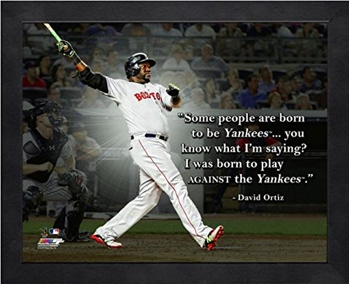David Ortiz Boston Red Sox MLB Pro Quotes Photo (Size: 12
