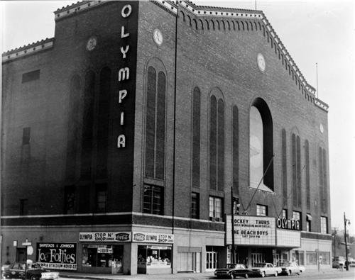 - OLYMPIA ARENA GLOSSY POSTER PICTURE PHOTO downtown detroit hockey red wings
