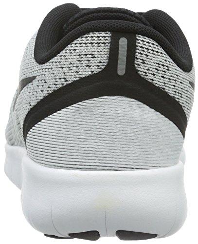 Nike Free Run - Zapatillas de Entrenamiento Niños Blanco (White / Black)