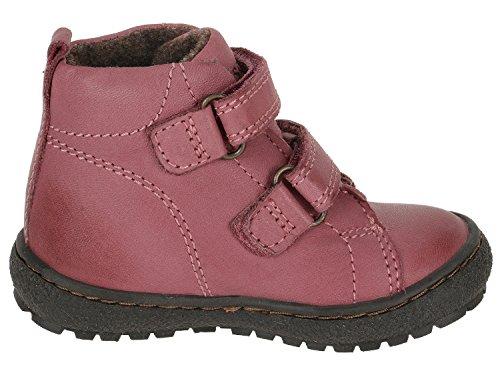 Bisgaard 60312 400 Grey - Botas de Piel para niño Pink (700 Rose)