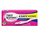 FIRST RESPONSE Pregnancy Test 6 Days Sooner 3 Each ( Pack of 12)